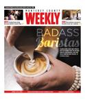 Issue April 09, 2015 - Talking beans, brew and espresso with the winner from the National Barista Championships, and some local champion shot-pullers.