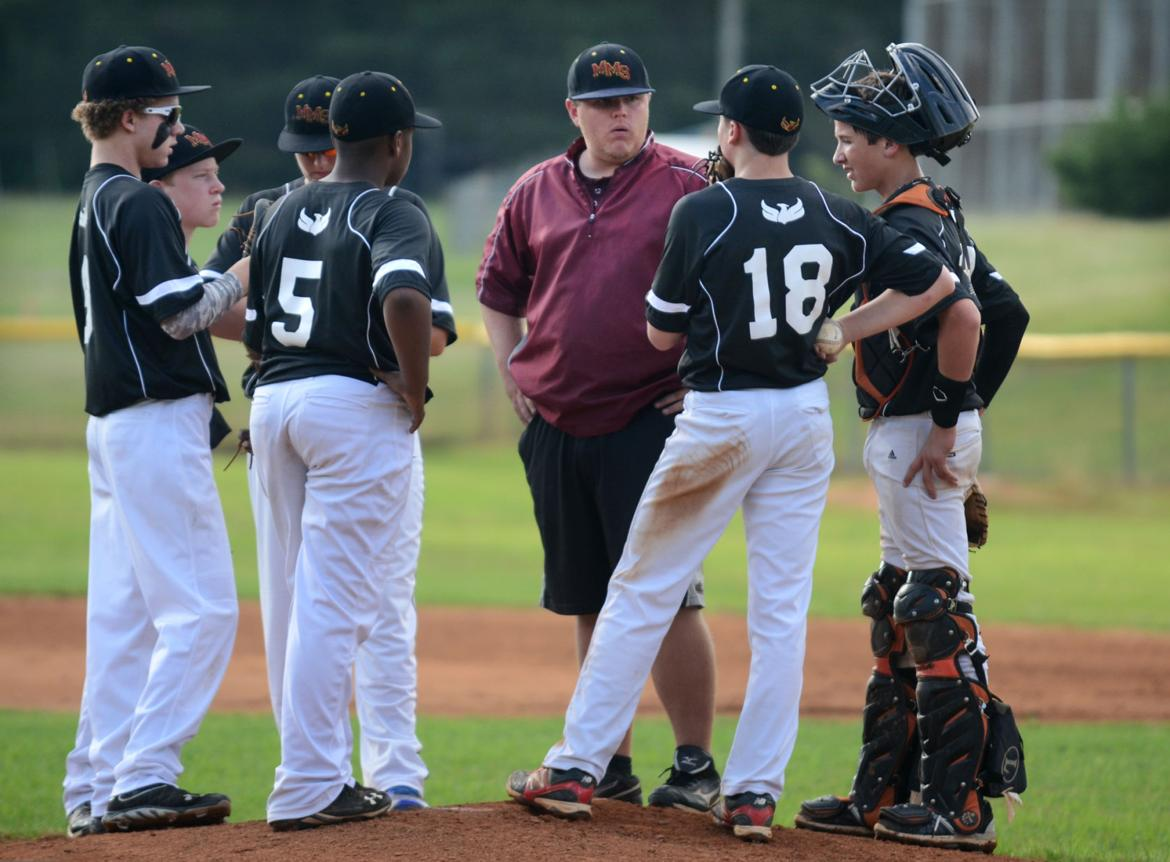 Middle school baseball championship game with mt mourne for Edge motors mooresville nc