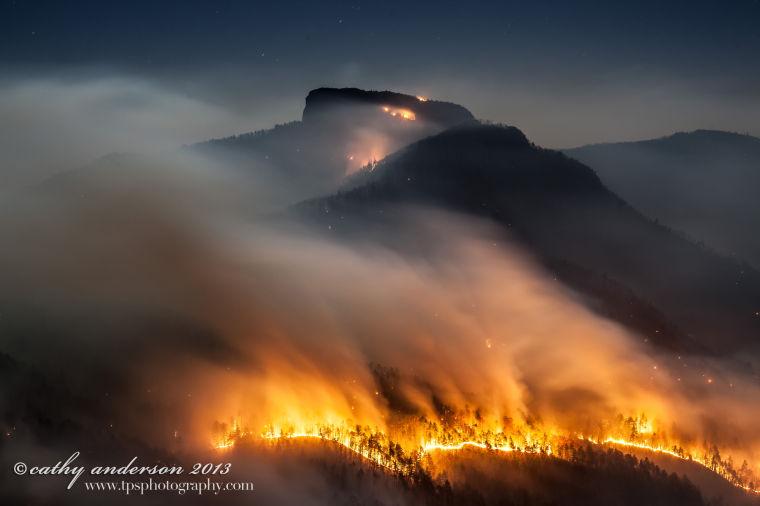 Table Rock fire