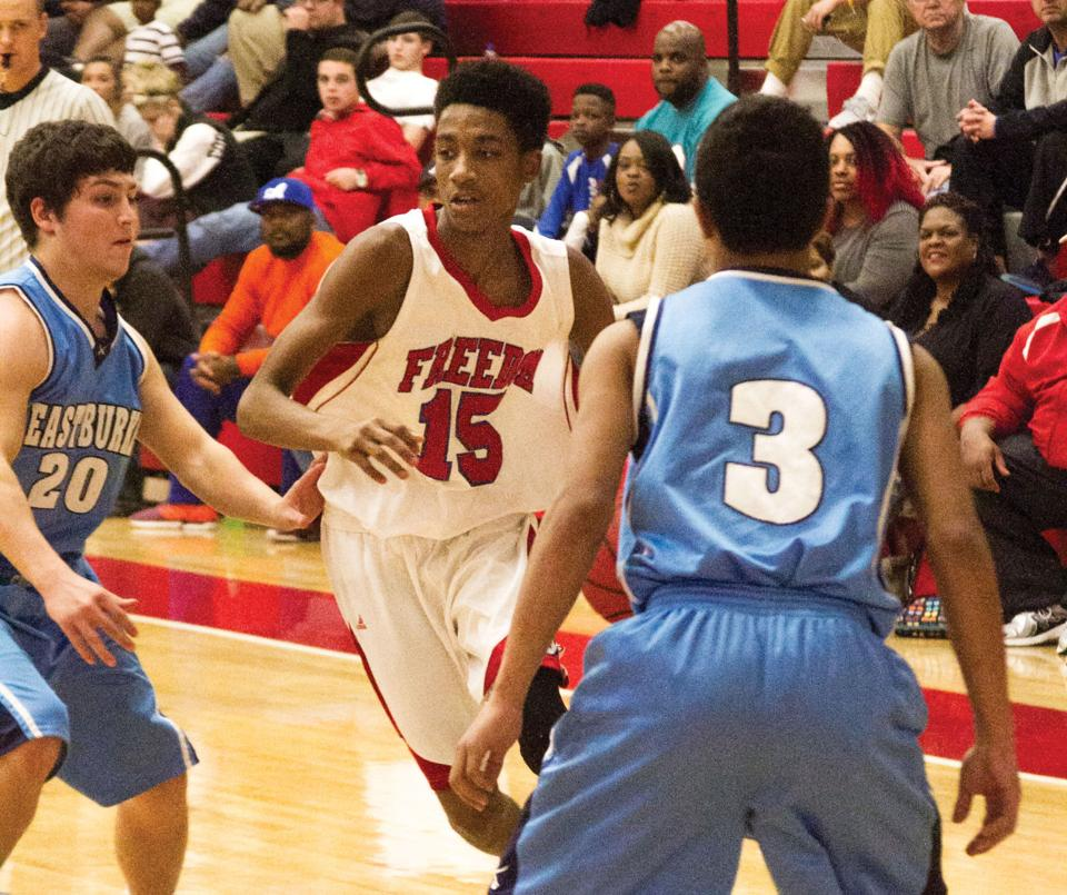 Freedom boys rally, outlast EB in overtime to avenge ...