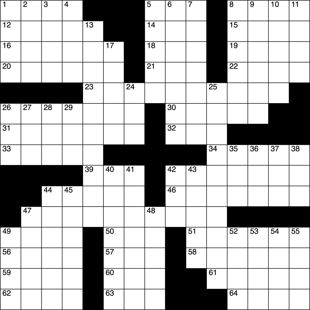 Boxer S Letters Crossword