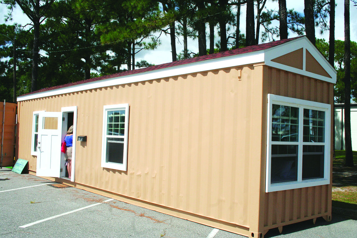 Shipping Container Homes For Vets