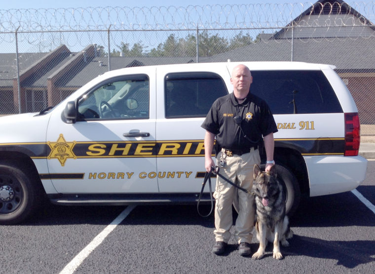 Horry County Sheriff S Office Welcomes New K9 Dog Crime