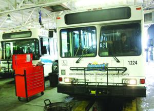 Most Coast RTA buses out of service