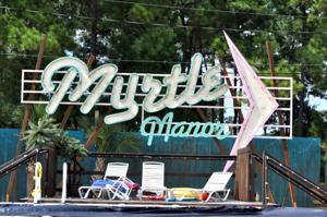 Myrtle Manor Sign