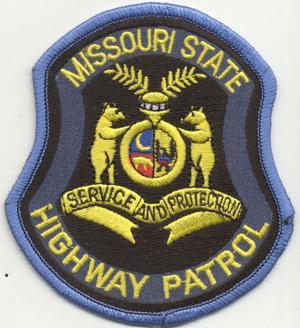 Missouri state highway patrol patch
