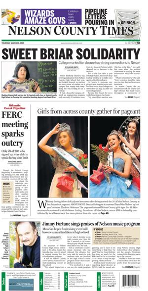 Nelson County Times for March 26, 2015