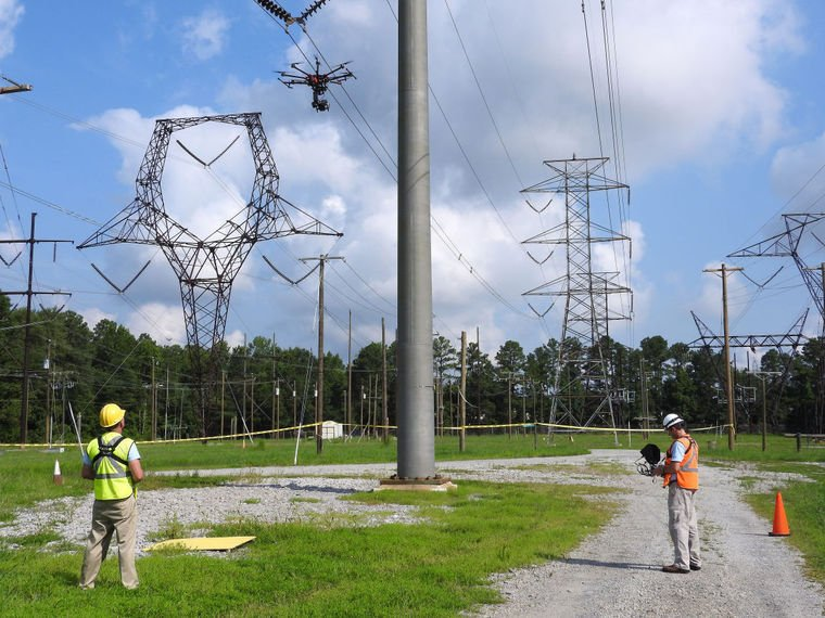 Work From Home Jobs Richmond Va >> Dominion to deploy drones to inspect power lines | Business | newsadvance.com