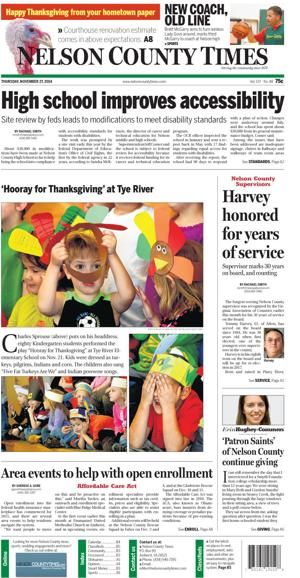 Nelson County Times for Nov. 27, 2014