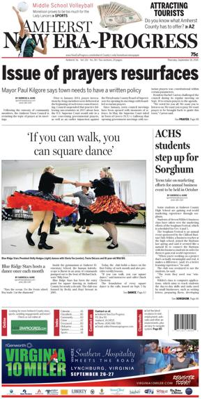 Amherst New Era-Progress for Spet. 18, 2014