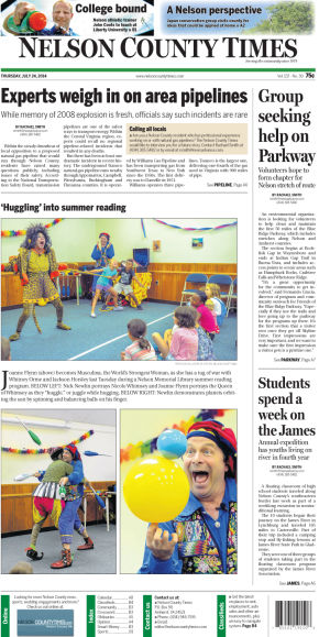 Nelson County Times for July 24, 2014