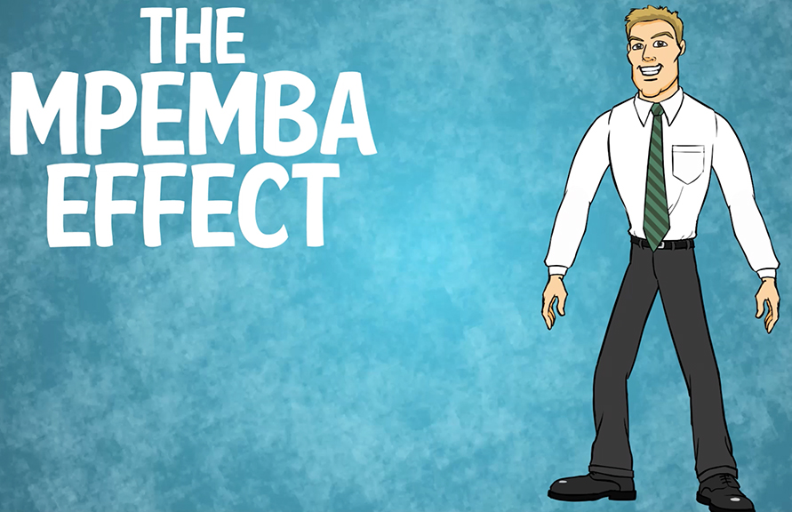mpembia effect The mpemba effect is a process in which hot water can freeze faster than cold water the phenomenon is temperature-dependent there is disagreement about the.