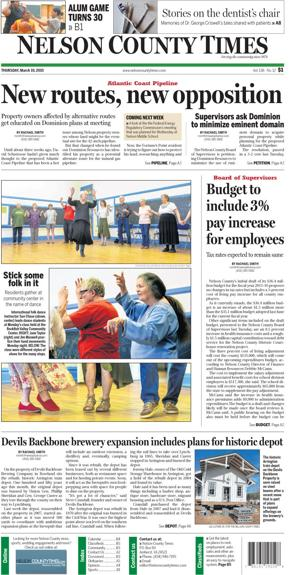Nelson County Times for March 19, 2015