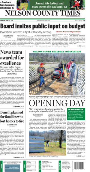 Nelson County Times for April 10, 2014