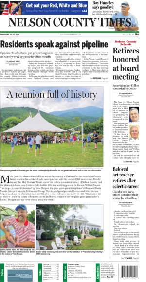 Nelson County Times for July 3, 2014