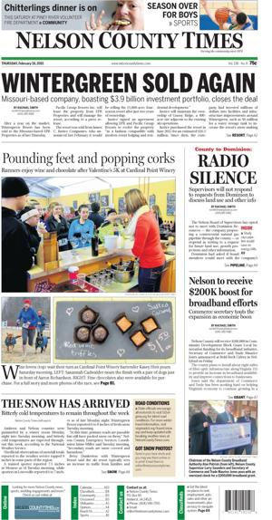 Nelson County Times for Feb. 19, 2015