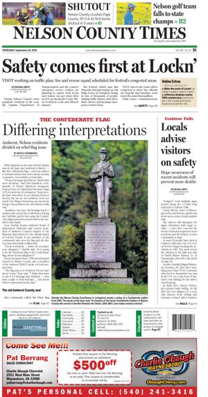 Nelson County Times for Sept. 10, 2015