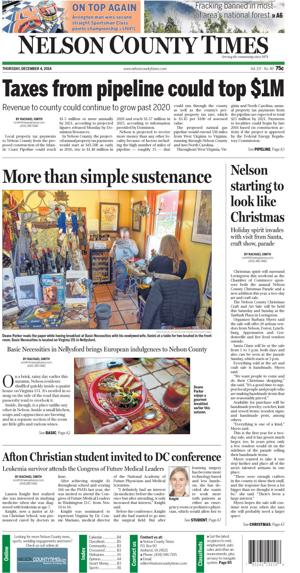 Nelson County Times for Dec. 4, 2014