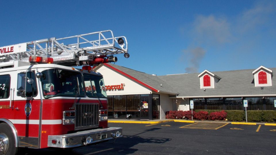 Golden Corral Catches Fire Eden Reidsville