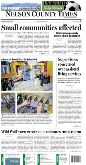 Nelson County Times for April 30, 2015