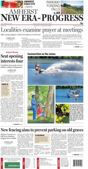 Amherst New Era-Progress for July 31, 2014