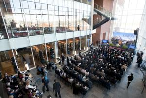 Falwell Library opens to the public