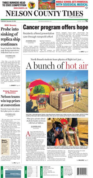 Nelson County Times for Nov. 14, 2013