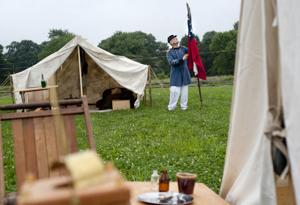 Civil War encampment tells the story of Confederate Marines