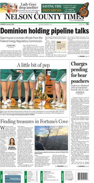 Nelson County Times for Jan. 8, 2015