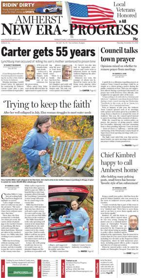 Amherst New Era-Progress for Nov. 20, 2014