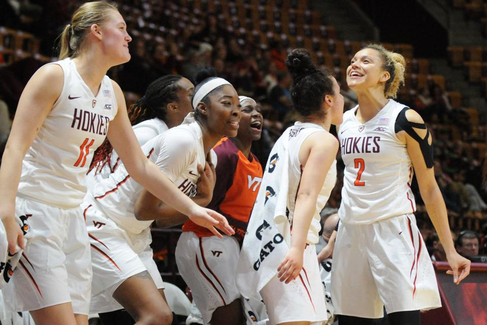 Virginia tech women beat clemson for 2nd acc win inside vt sports