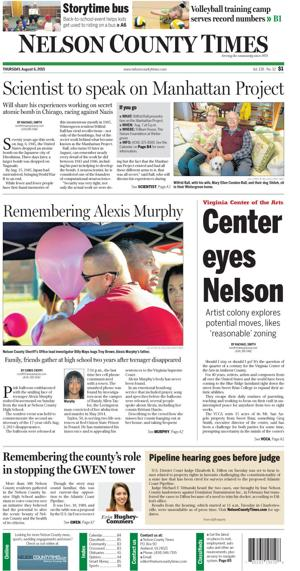 Nelson County Times for Aug. 6, 2015