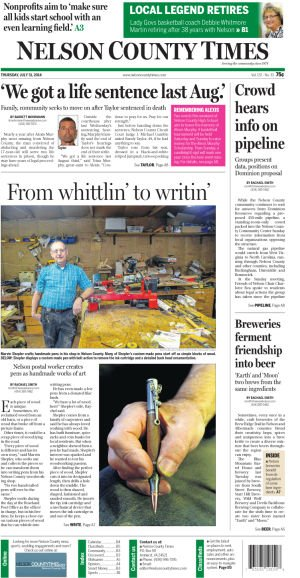 Nelson County Times for July 31, 2014