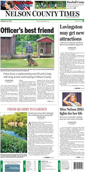 Nelson County Times for July 2, 2015