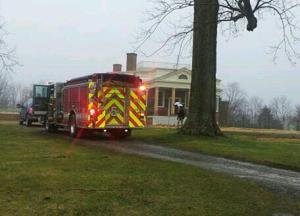 Poplar Forest fire
