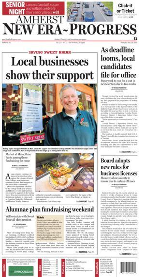 Amherst New Era-Progress for May 28, 2015