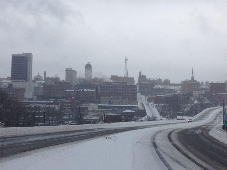 Snow Thursday morning 2