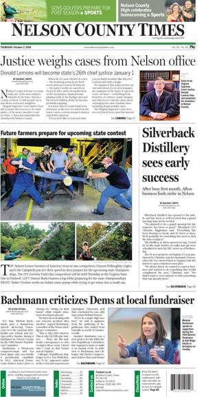 Nelson County Times for Oct. 2, 2014