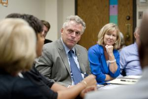 McAuliffe calls for reform of SOL testing in campaign stop in Lynchburg