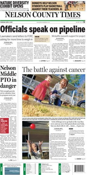 Nelson County Times for April 2, 2015