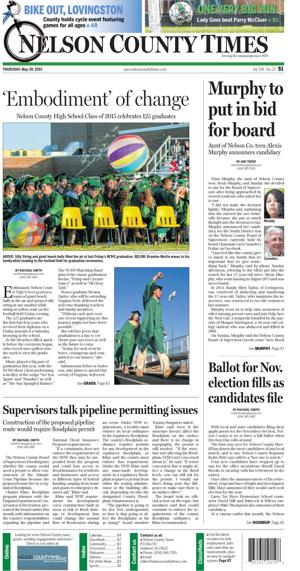 Nelson County Times for May 28, 2015
