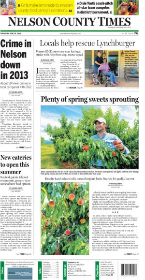 Nelson County Times for June 26, 2014