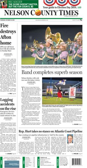 Nelson County Times for Oct. 30, 2014