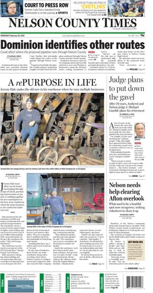 Nelson County Times for Feb. 26, 2015