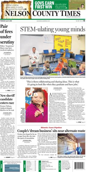 Nelson County Times for April 9, 2015