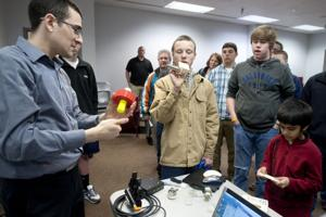 Interested students get first look at new STEM academy