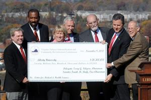 LU breaks ground on medical school some 40 years in the making