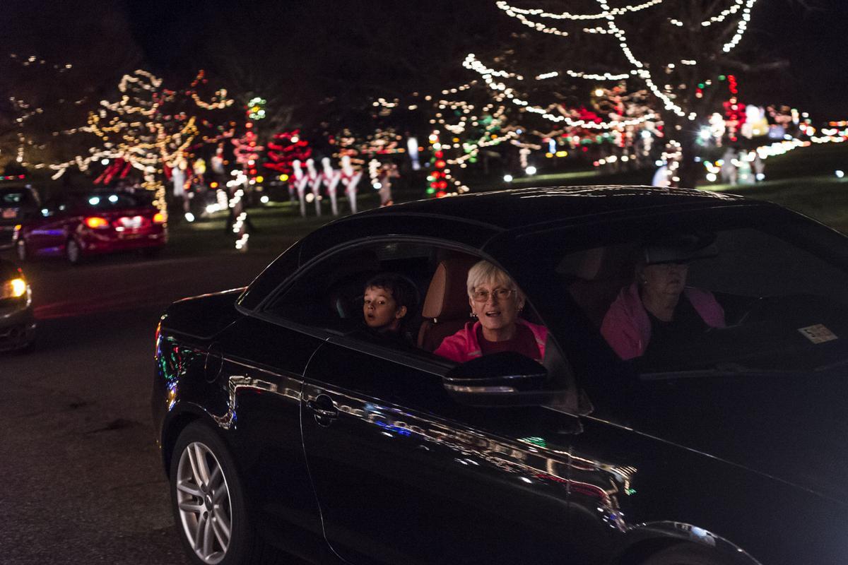 christmas lights elks home bedford va
