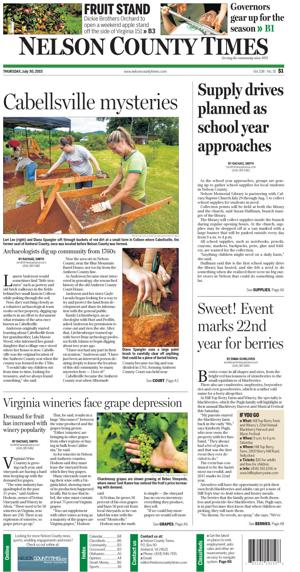 Nelson County Times for July 30, 2015