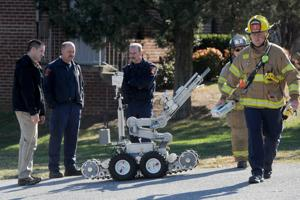 Bomb at Rivermont School